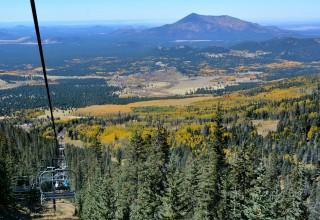 Arizona Snowbowl Scenic Chairlift