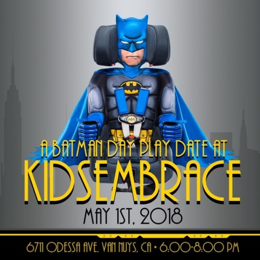 KidsEmbrace Batman Day Play Date