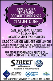 Team Tatum Cookout Poster