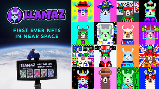 Llamaz Become the First Ever NFTs in Near Space