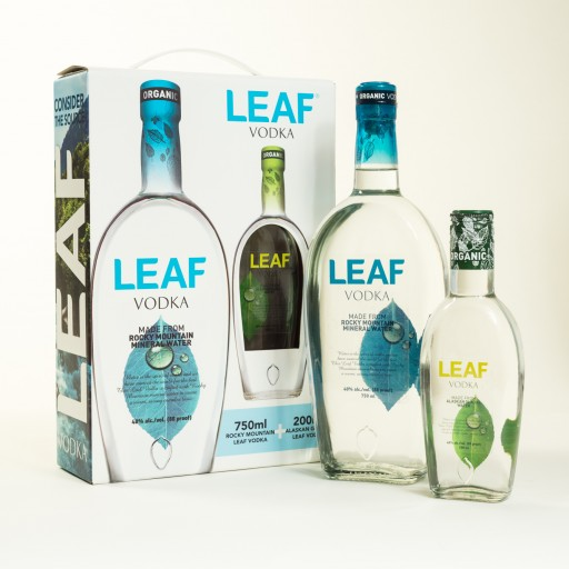 Leaf Organic Vodka: A Uniquely Spirited Holiday Gift