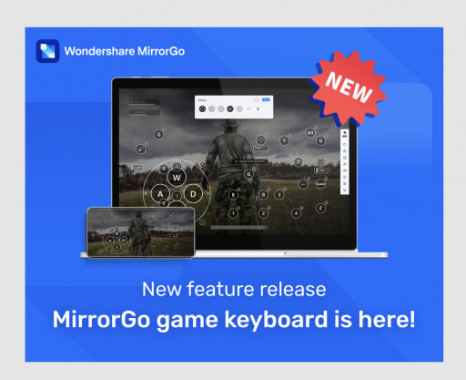 Wondershare MirrorGo: Keyboard Mapping, Key Customization and App Control for Everyone