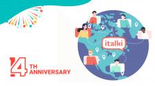 italki 14th Anniversary