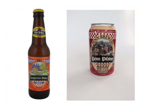 """Penn Brewery Celebrates Rare Craft Beer Feat of 30 Years in Business and """"Appeels"""" to Craft Drinkers With New Tangerine Swirl Summer Ale Rollout"""