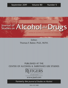 Journal of Studies on Alcohol and Drugs