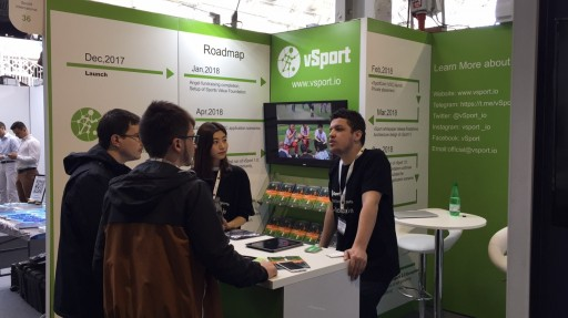 vSport Blockchain Appearance on Global Blockchain Expo in London