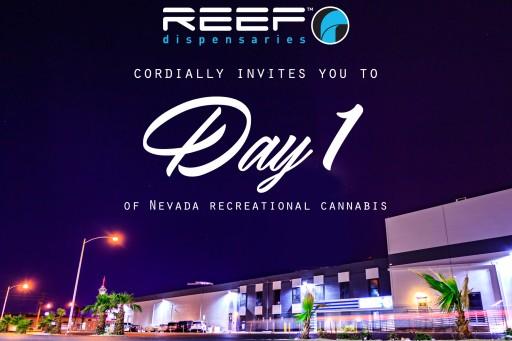 NV Senator Tick Segerblom Will Kick Off Recreational Cannabis Sales in Las Vegas at Reef Dispensaries