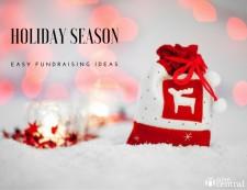 Holiday season easy fundraising ideas
