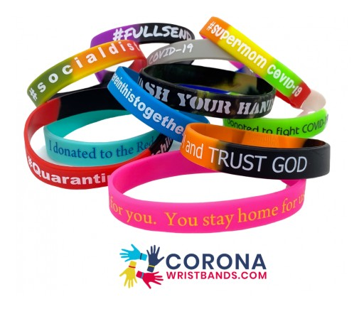 Coronawristbands.com Launched to Raise Money for Charities Fighting COVID-19, Powered by Zacuto