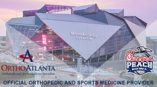 OrthoAtlanta an Official Partner of the 2018 Chick-fil-A Peach Bowl