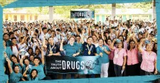 President of Drug-Free World Philippines, Maite Marques