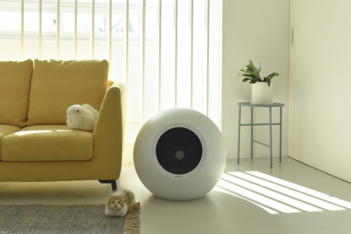 Pluto Electronics Introduces Stylish Self-Cleaning Circle Zero Litter Box