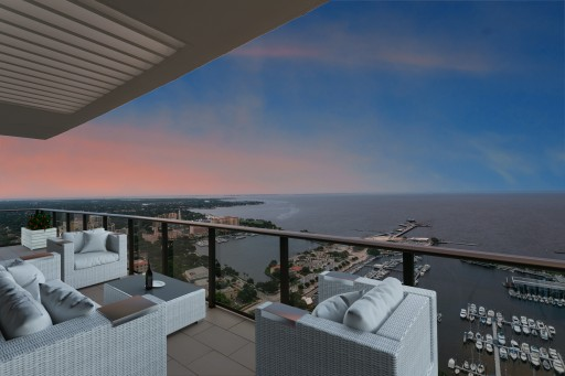 Penthouse Residence at ONE St. Petersburg Sells for Record-Breaking $4.15 Million
