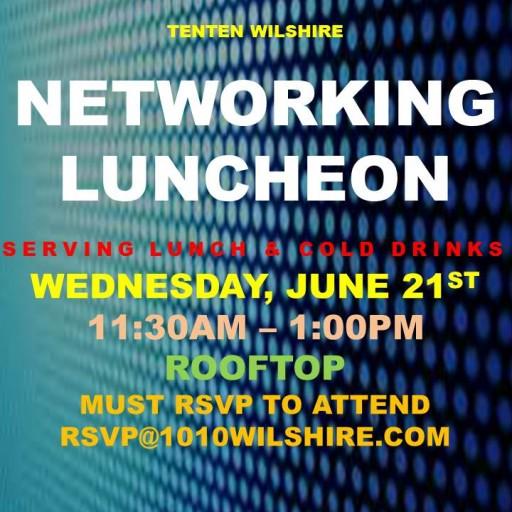 TENTEN Wilshire Rooftop: Special Network Luncheon