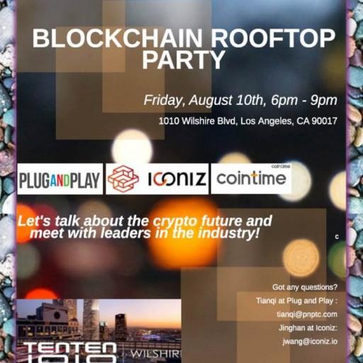 TENTEN Wilshire Rooftop: Blockchain Rooftop Party