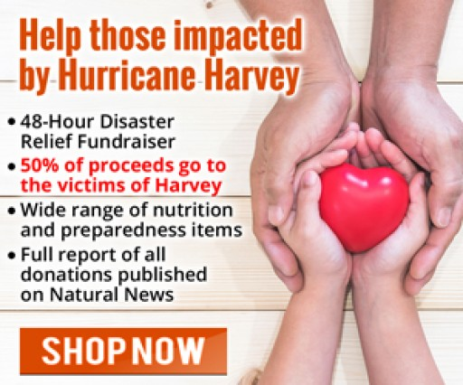 Natural Products Retailer 'Health Ranger Store' Announces 48-Hour Disaster Relief Fundraiser for Hurricane Harvey Victims