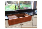 Legacy copper kitchen sink