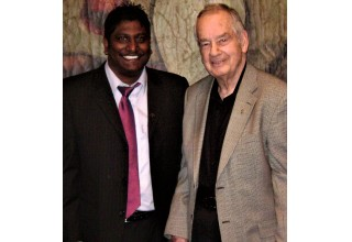 Zig Ziglar and Melvin Pillay