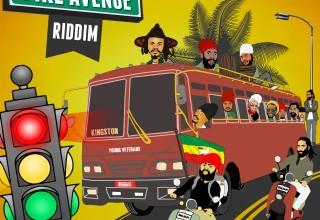Fire Avenue Riddim album cover
