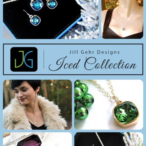 Jill Gehr Designs New Swarovski Crystal Rhinestone Holiday 2016 Iced Collection is Revealed