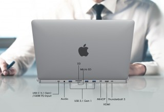 DGRule introduces invisible hub for MacBook Pro.