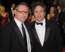Green Gorilla Co-founder/CEO Steven Saxton with three-time Oscar Nominee Mark Ruffalo