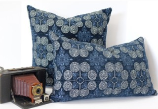 Oklahoma Heights Pillow Cover from the Martha's Cottage Collection: