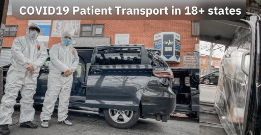 Myle Specialized Wheelchair Van and Sedan Fleet for Transporting COVID-19 Positive Patients