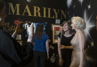 "Ripley's Believe It or Not! brings the world's most expensive dress to Orlando, Florida, Thursday, Nov. 9, 2017. The dress was custom made for Marilyn Monroe for President John F. Kennedy's birthday gala on May 19, 1962. The ""Happy Birthday, Mr. President"" is the world's most expensive dress purchased at auction for over $5 million."