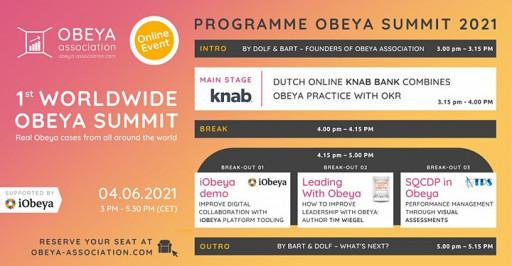 iObeya to Headline First Worldwide Obeya Summit