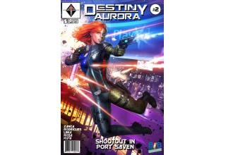 Destiny Aurora Issue #2 Cover