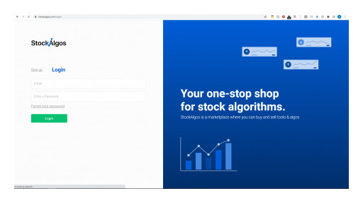 StockAlgos.com Launches a Powerful Marketplace of Stock Tools & Algorithms for Retail Investors to Take on the Big Guns