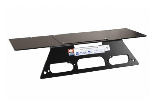 Larson Electronics Releases No-Drill Magnetic Steel Mounting Plate for 2017+ Ford F250-F550 Super Duty Trucks
