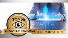 Top 20 Litigants in Insurance