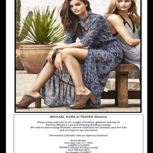 TENTEN Wilshire: A Night of Fashion With Michael Kors Newest Collection