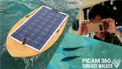 Picam360-SurfaceWalker: The Open Source Aquatic Drone