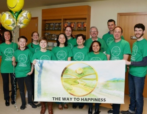 Volunteers Find Their U.N. Happiness Day Plans Could Not Have Been More Appropriate