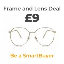 High-quality £9 prescription glasses