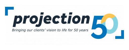 Projection Celebrates 50th Anniversary