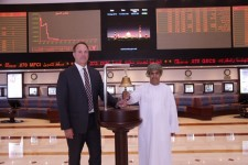 NDC rings the bell at Muscat Securities Market Industrial Index