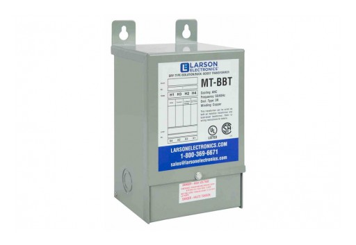Larson Electronics Releases Single Phase Step-Down Buck and Boost Transformer, 240V Primary, 220V Secondary, 5 kVA Rating