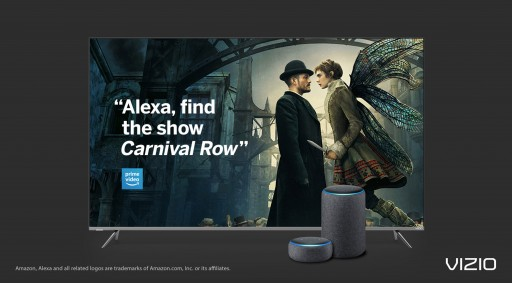 New Alexa Capabilities Now Available on VIZIO SmartCast™ TVs, Creating Enhanced Viewer Experiences Just in Time for Fall TV