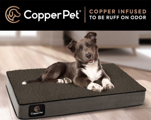CopperPet®  Copper Infused to Be 'RUFF' on Odor