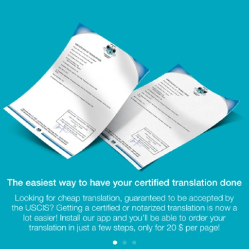 Universal Translation Services Launches a Free App for Certified and Notarized Translations