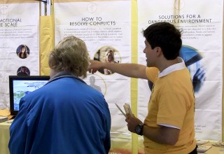 Curious about Scientology, many visitors to the ABQ Home & Lifestyle Show toured the Volunteer Ministers tent and learned of the array of courses available to improve any aspect of life.