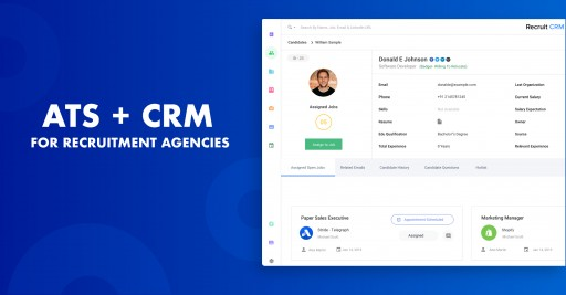 Recruit CRM Builds a Cutting Edge ATS for Recruitment Agencies