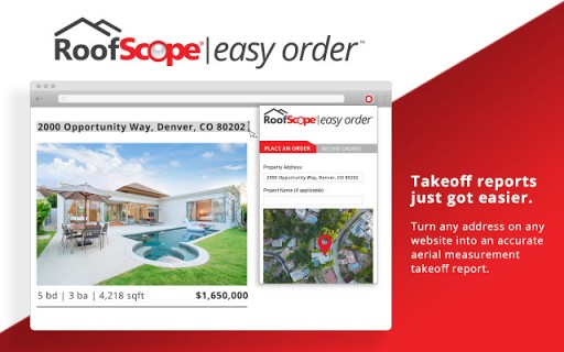 Scope Technologies Releases First-of-Its-Kind Chrome Extension in RoofScope Easy Order