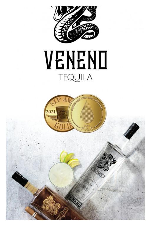 Veneno Tequila Awarded Prestigious Gold Medals