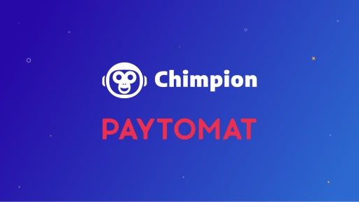 Chimpion to Feature Paytomat Technology for Point of Sale and Settlement Backend