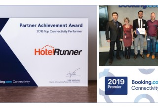 Booking.com Recognizes HotelRunner as Its Premier Connectivity Partner and the Top Connectivity Performer